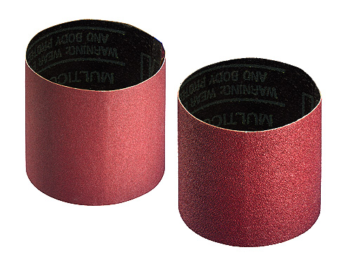 Abrasive belt for rollers with 100 mm Ø, Expanding tools, abrasive belt and satin finishing belt, surface conditioning belt.
