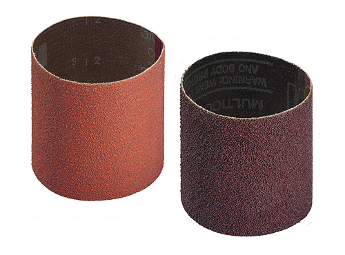 Abrasive belt for rollers with 91 mm Ø, Expanding tools, abrasive belt and satin finishing belt, surface conditioning belt.