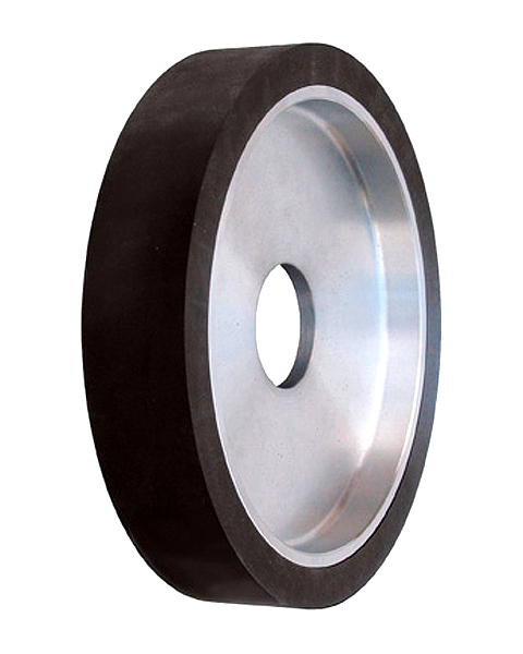 ELAX® GO, Contact wheels for belt grinding. Contact Wheels with grooved cushion, elastic foam cushion, made of foam flaps.