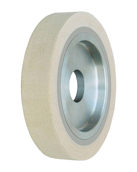 Rotax, Contact wheels for belt grinding. Contact Wheels with grooved cushion, elastic foam cushion, made of foam flaps.